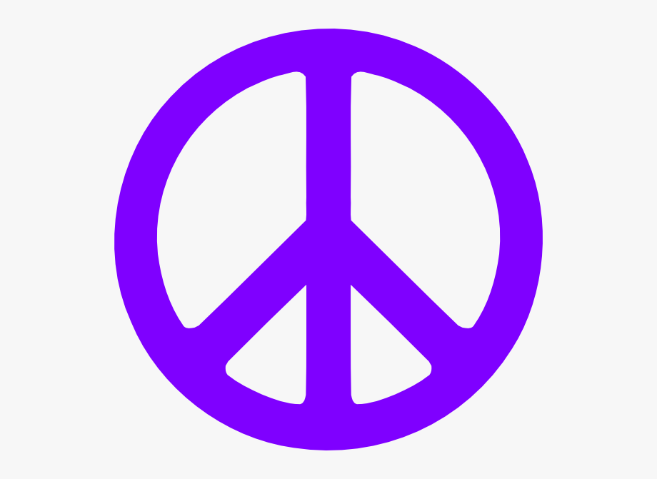 Peace Sign Clipart Large.