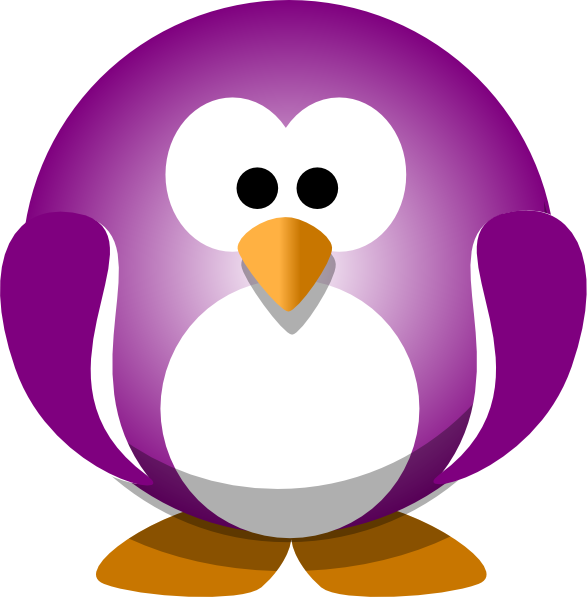 Purple Penguin.