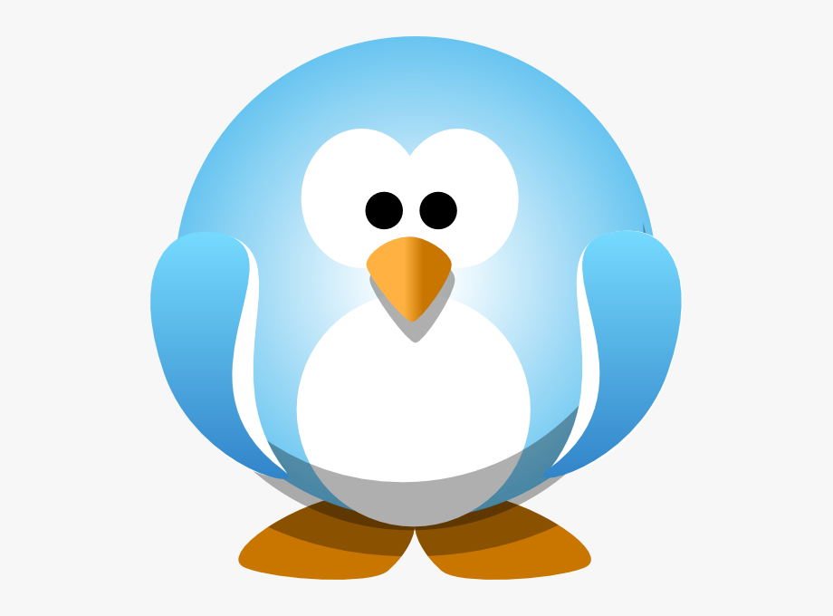 Blue Penguin Png.