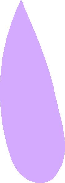 One Flower Petal Clipart.