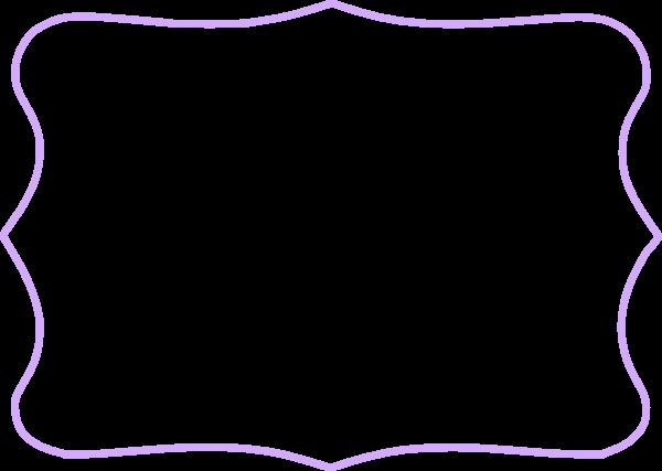 Lavender Frame Cliparts.