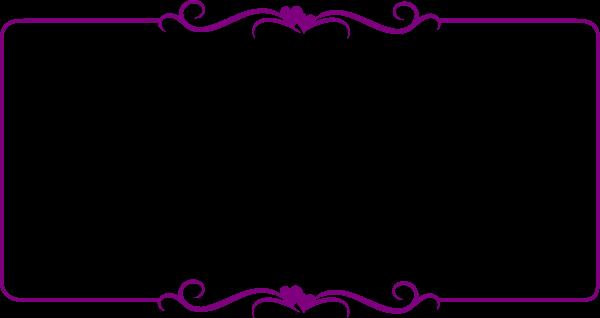 Purple Frame Cliparts.