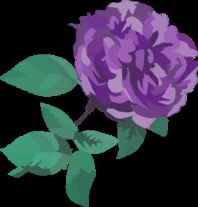 Purple Flower No Background Clip Art at Clker.com.