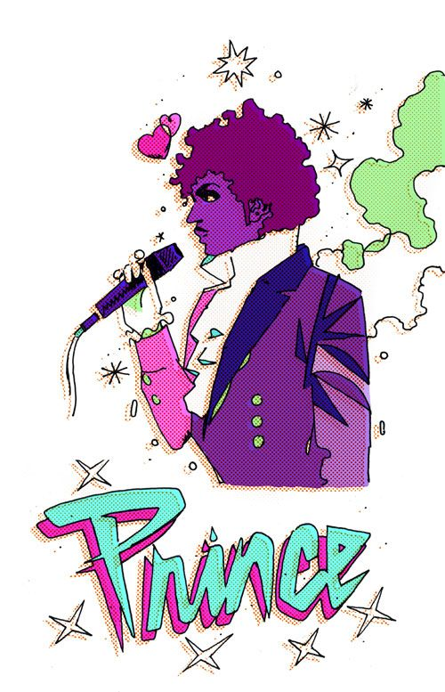 Showing post & media for Prince purple rain cartoon.