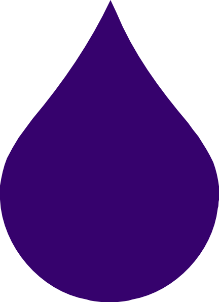 Purple Rain Drop Clip Art at Clker.com.