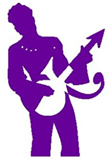 Amazon.com: Purple Rain Signature Guitar Prince The Artist 6.
