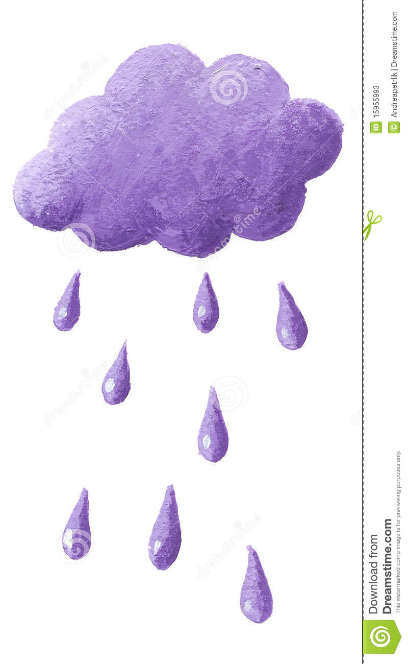 Clipart Purple Rain.
