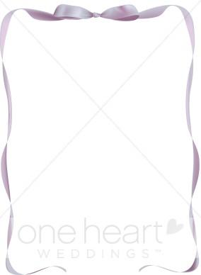 Satin Purple Ribbon.