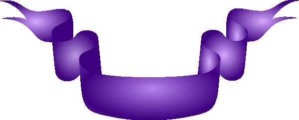 Purple Ribbons Border.