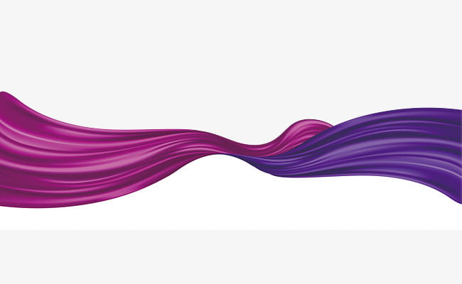Purple ribbon border texture PNG clipart.