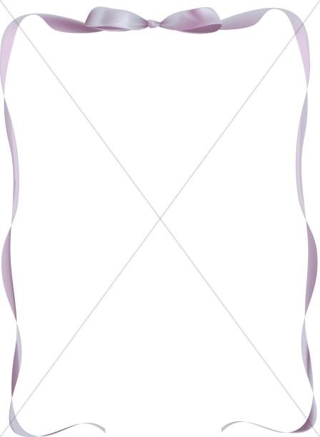 Purple Party Ribbon.