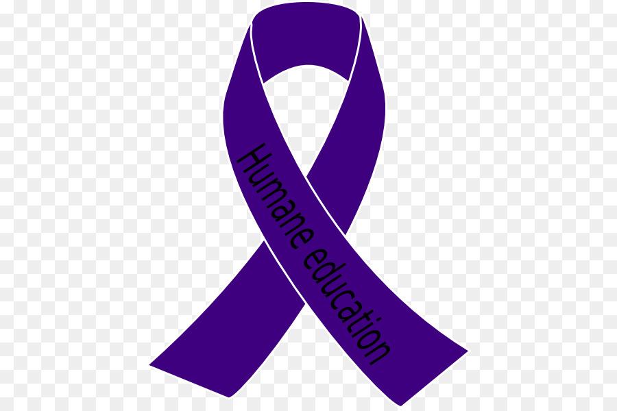 Awareness ribbon Purple ribbon Cancer Clip art.