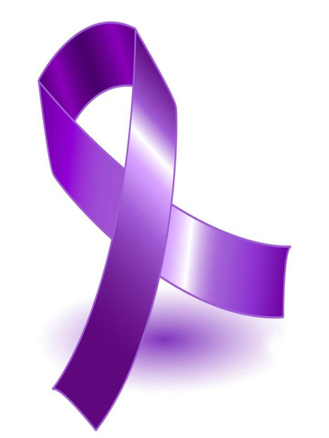 Purple Ribbon Pictures.