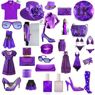 lavender collage.