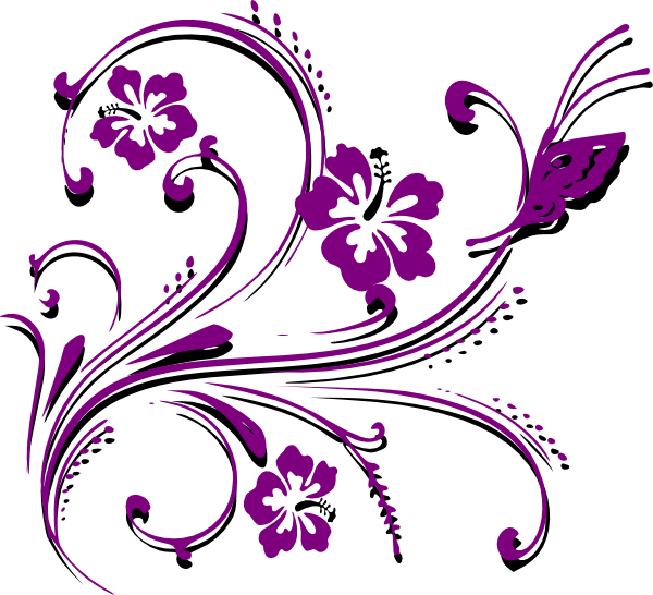 Free Flower Scroll Cliparts, Download Free Clip Art, Free.