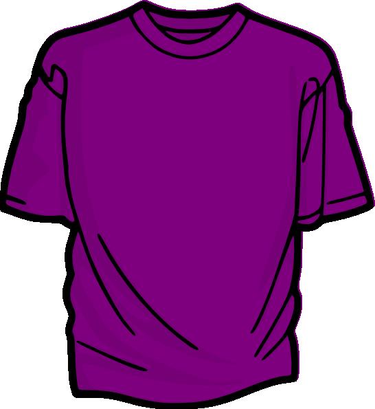 Purple T Shirt Clip Art at Clker.com.