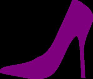 Purple Shoe Clip Art at Clker.com.