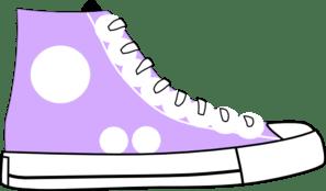 Purple shoes clipart » Clipart Portal.