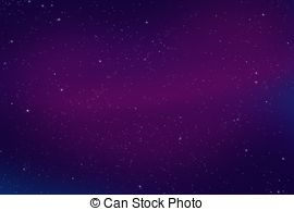 Purple Night Sky Clip Art.