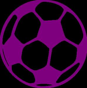 Purple Soccer Ball Clip Art at Clker.com.