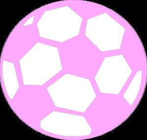 Pink Soccer Ball Clip Art at Clker.com.
