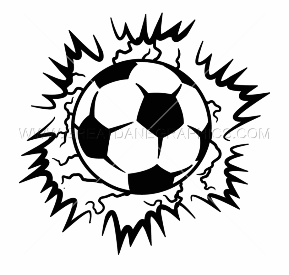 Lightning Soccer Ball.