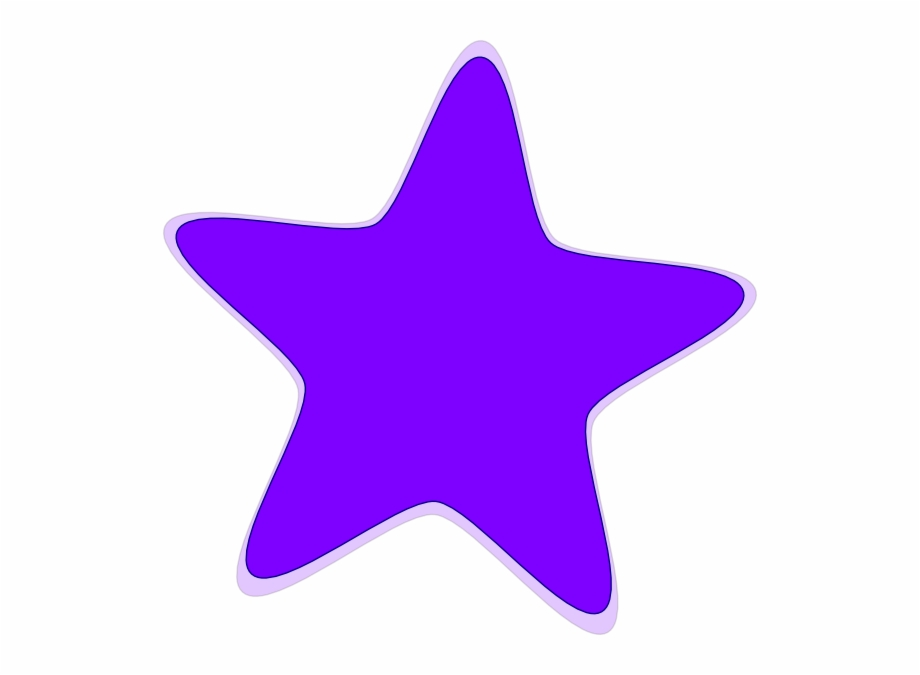 Original Png Clip Art File Purple Star Svg Images.