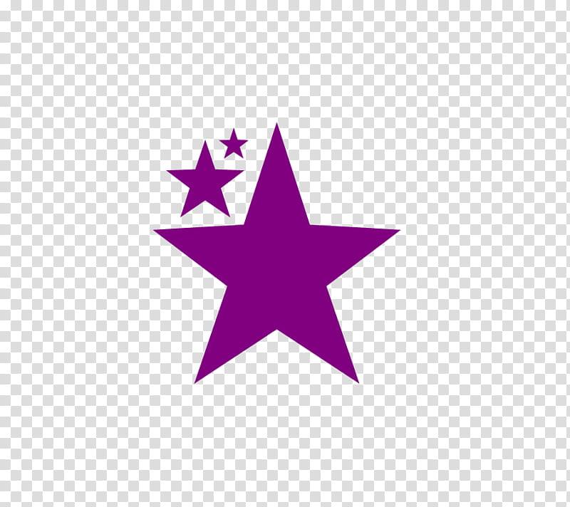 TEXTOS CIRCULOS ESTRELLAS MARIPOSAS, three purple stars.