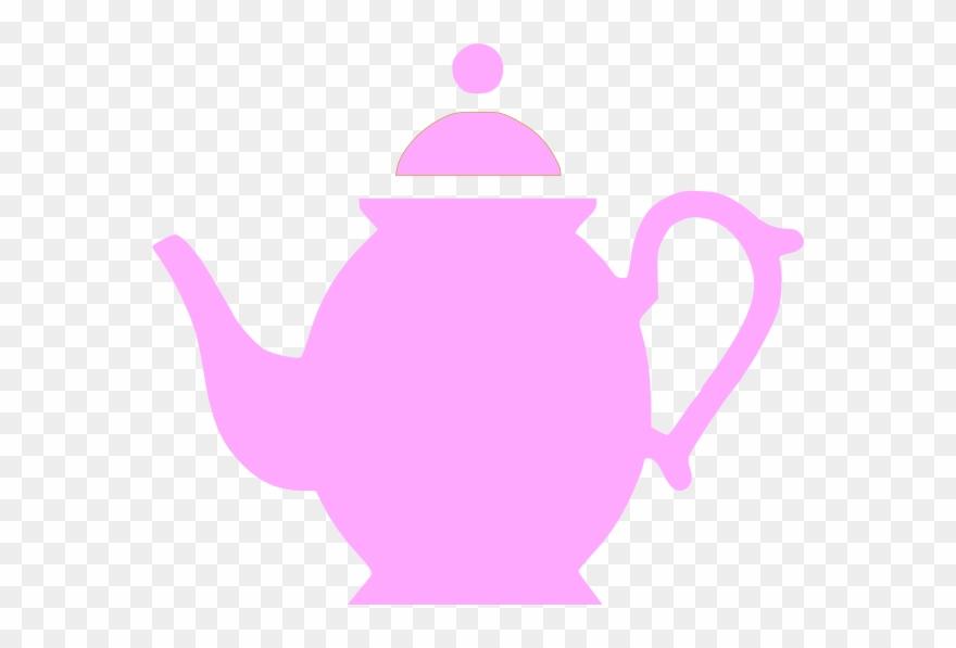 Purple Teapots Clip Art.
