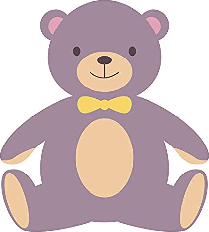 Amazon.com: Cute Adorable Colorful Creative Bear Cartoon.