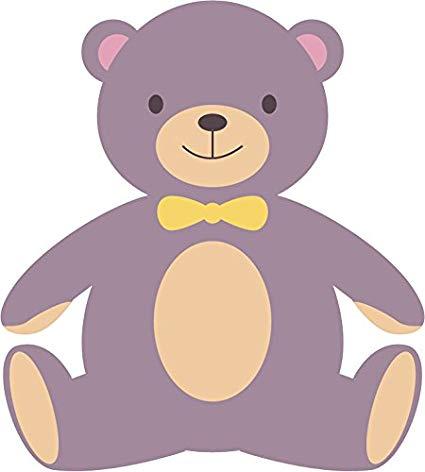 Amazon.com: Cute Adorable Colorful Creative Bear Cartoon.
