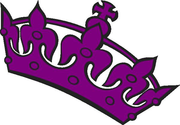 Purple Tilted Tiara Clip Art at Clker.com.