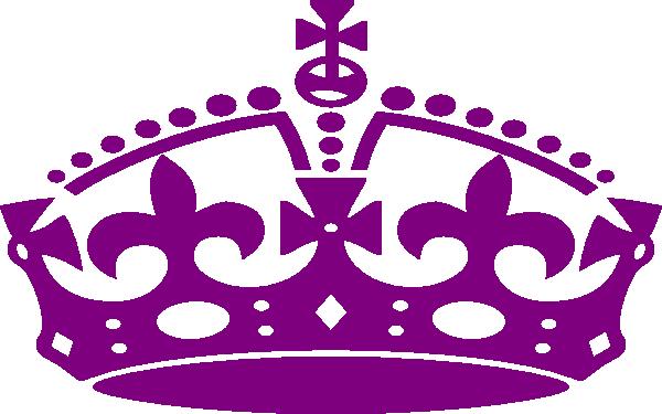 Jubilee Crown Purple Clip Art at Clker.com.