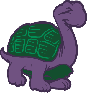 Purple Turtle.