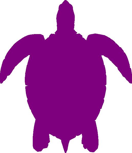 Plum Sea Turtle Clip Art at Clker.com.
