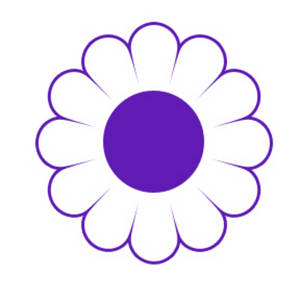 Clipart Picture of a Daisy.