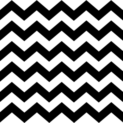 Black and White Zig Zag Pattern.