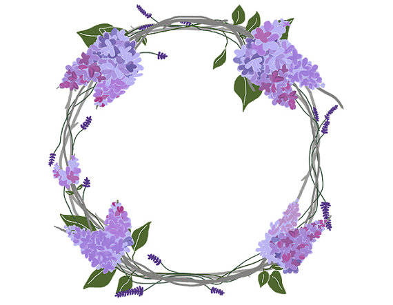 Free Lavender Wreath Cliparts, Download Free Clip Art, Free.