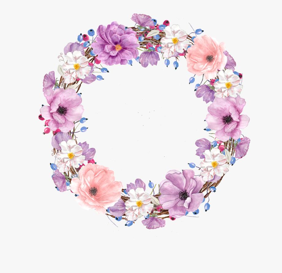 Floral Design Watercolor Painting Flower Clip Art.