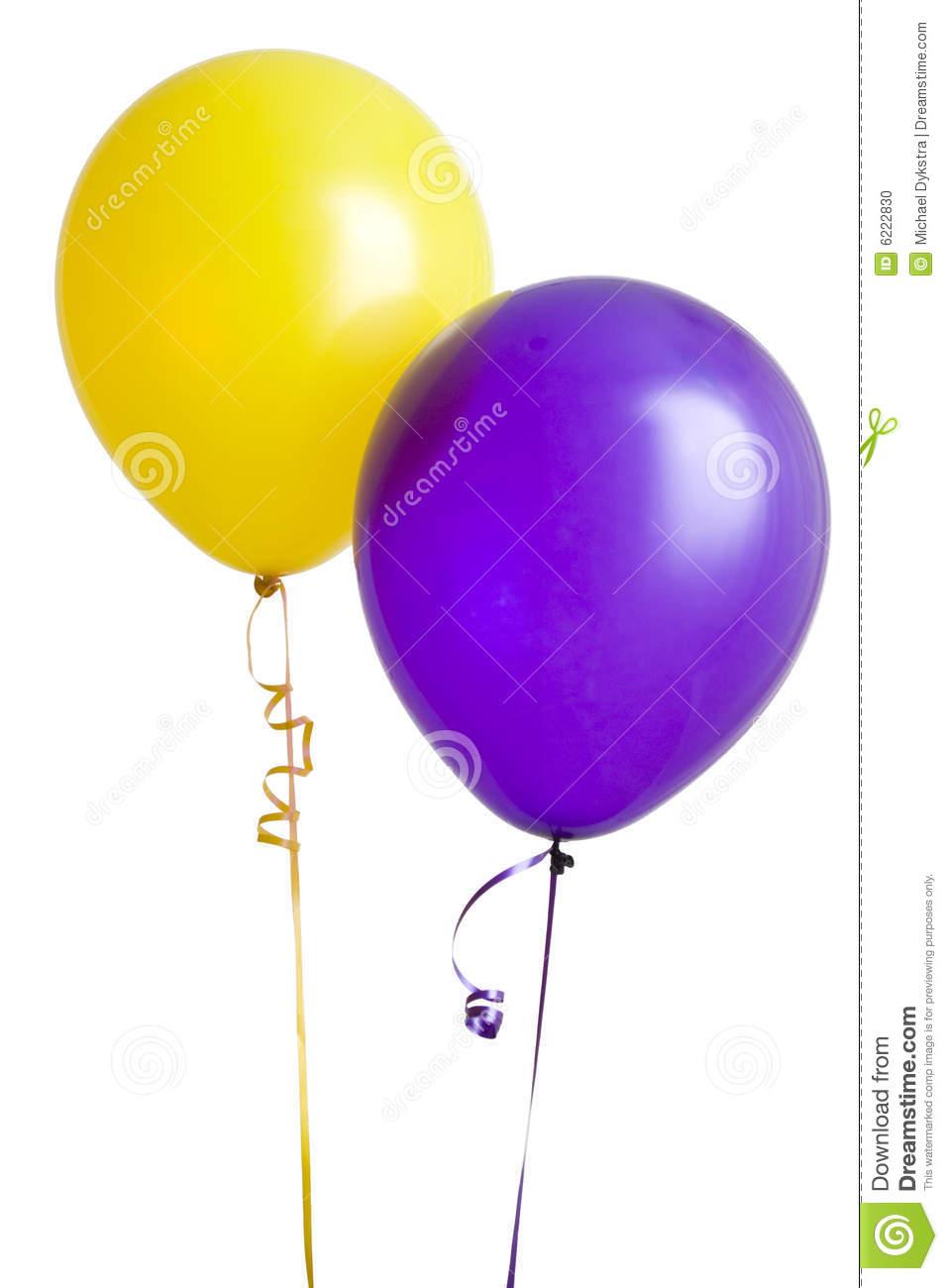 Purple Balloons Clipart.