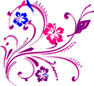 Purple Scroll Clipart.