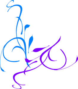 Blue And Purple Clipart.