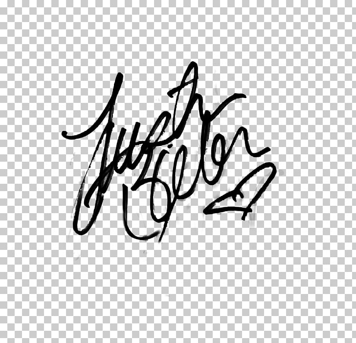 Believe Tour Purpose World Tour Autograaf Justin Bieber.