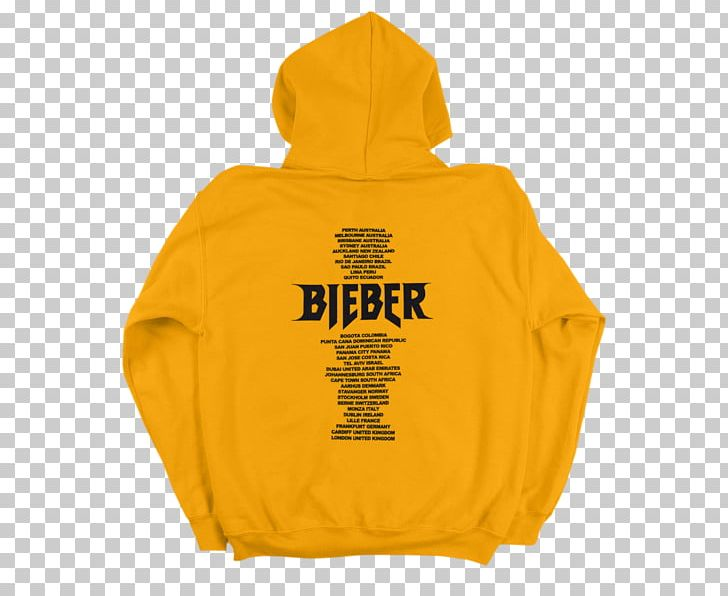 Purpose World Tour Hoodie Believe Tour T.