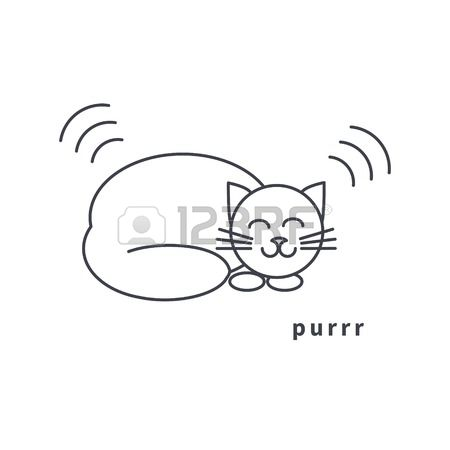 Purr Stock Vector Illustration And Royalty Free Purr Clipart.
