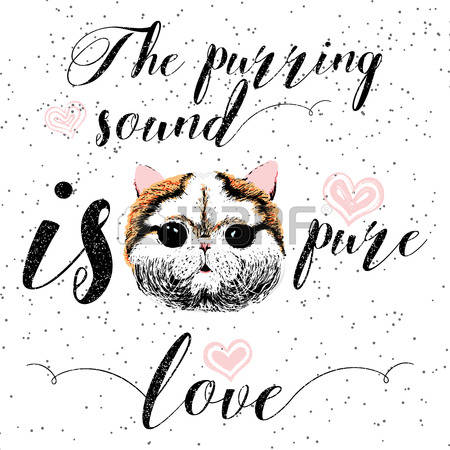 533 Purring Stock Vector Illustration And Royalty Free Purring Clipart.