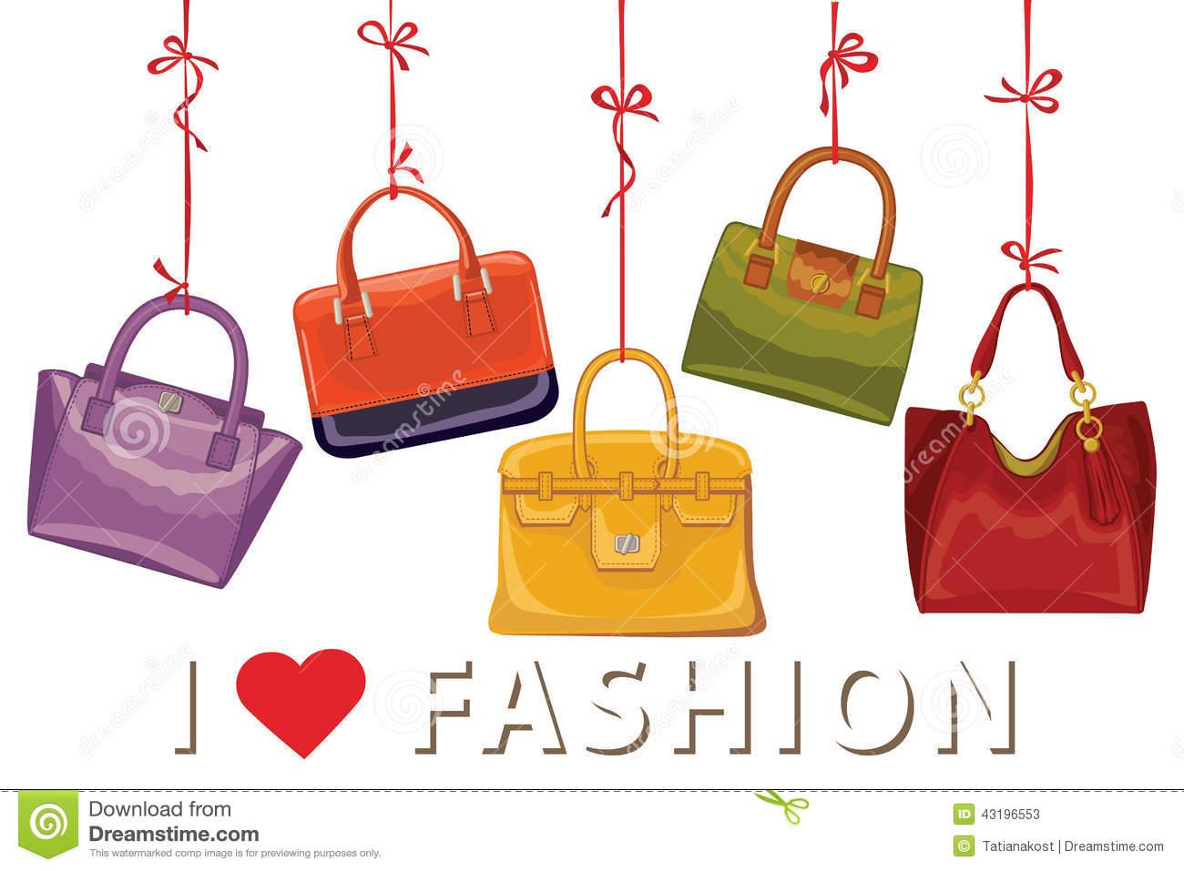 Fashion Purse Clipart.