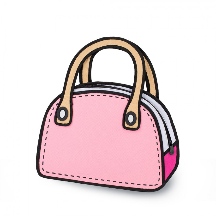 Pink purse clipart.