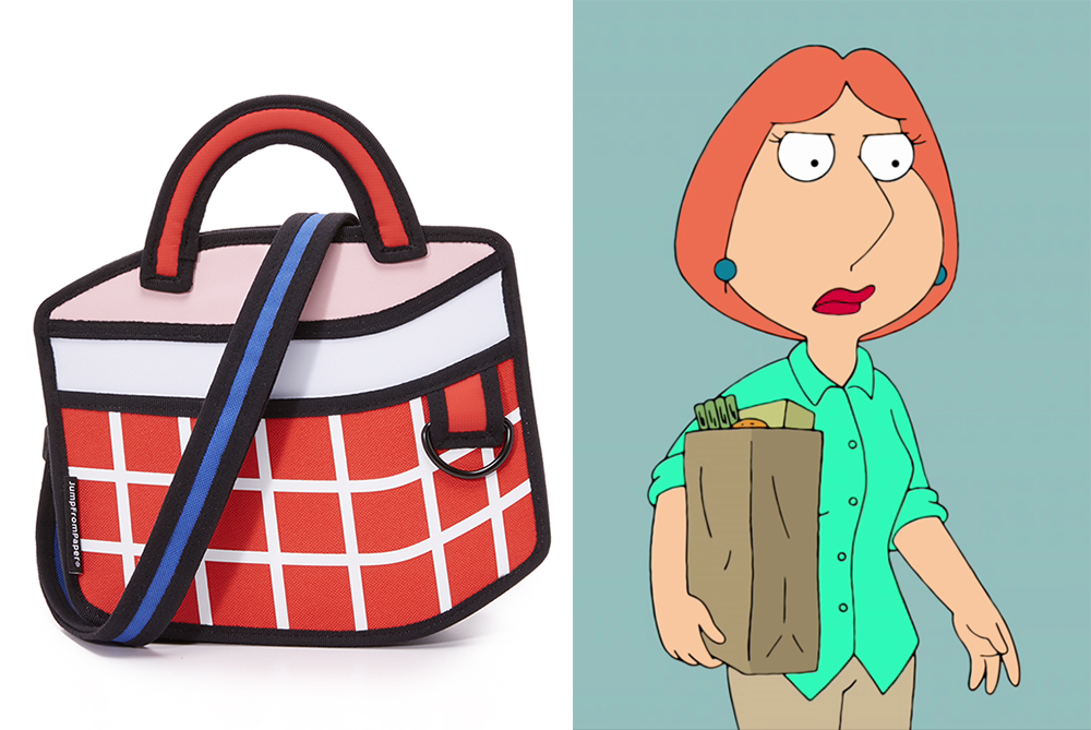 Showing post & media for Cartoon mom with purse.