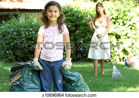 Mother Daughter Holding Purse Clipart.